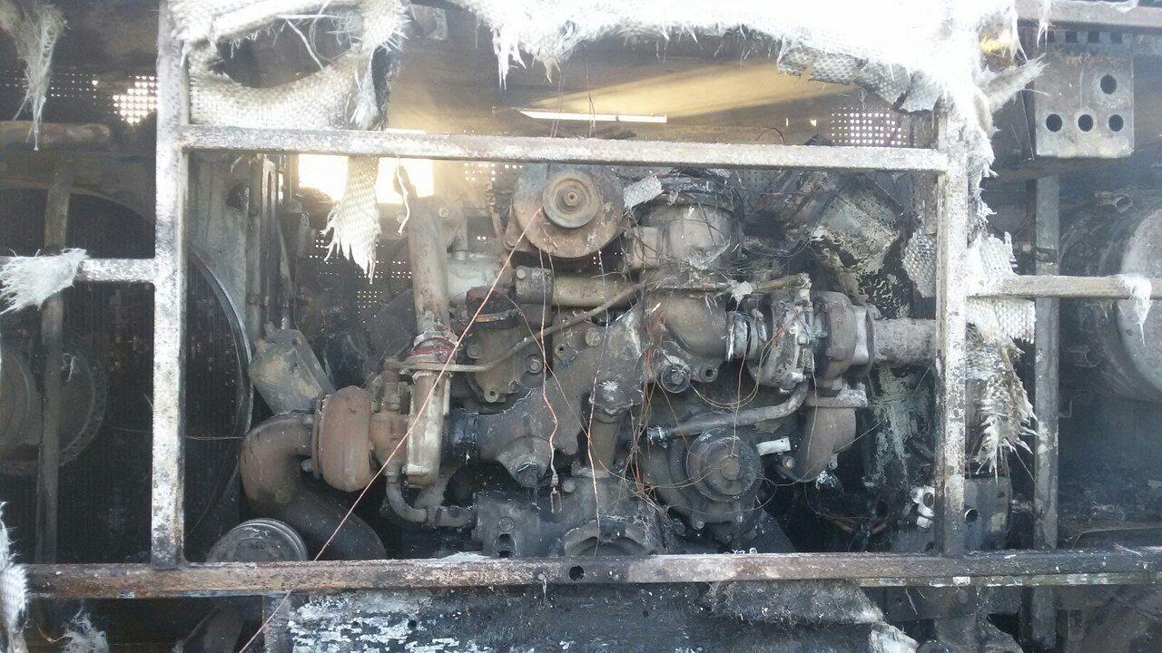 Под Кемерово навсе 100% выгорел рейсовый автобус спассажирами