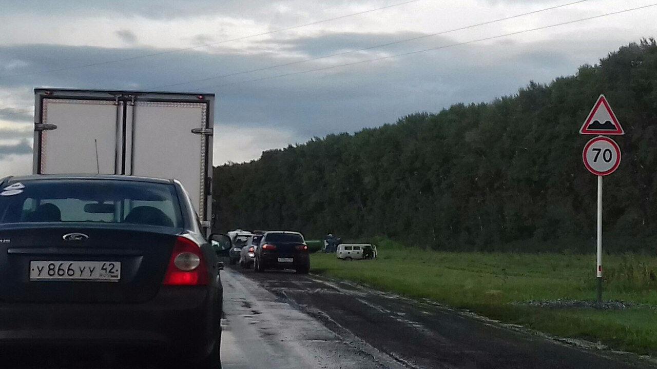 ВГИБДД Кузбасса прокомментировали ДТП савтоцистерной