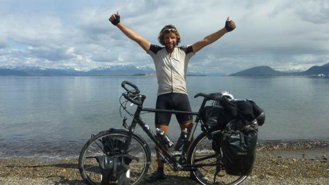 Шотландец совершил кругосветное путешествие навелосипеде зарекордные 79 дней