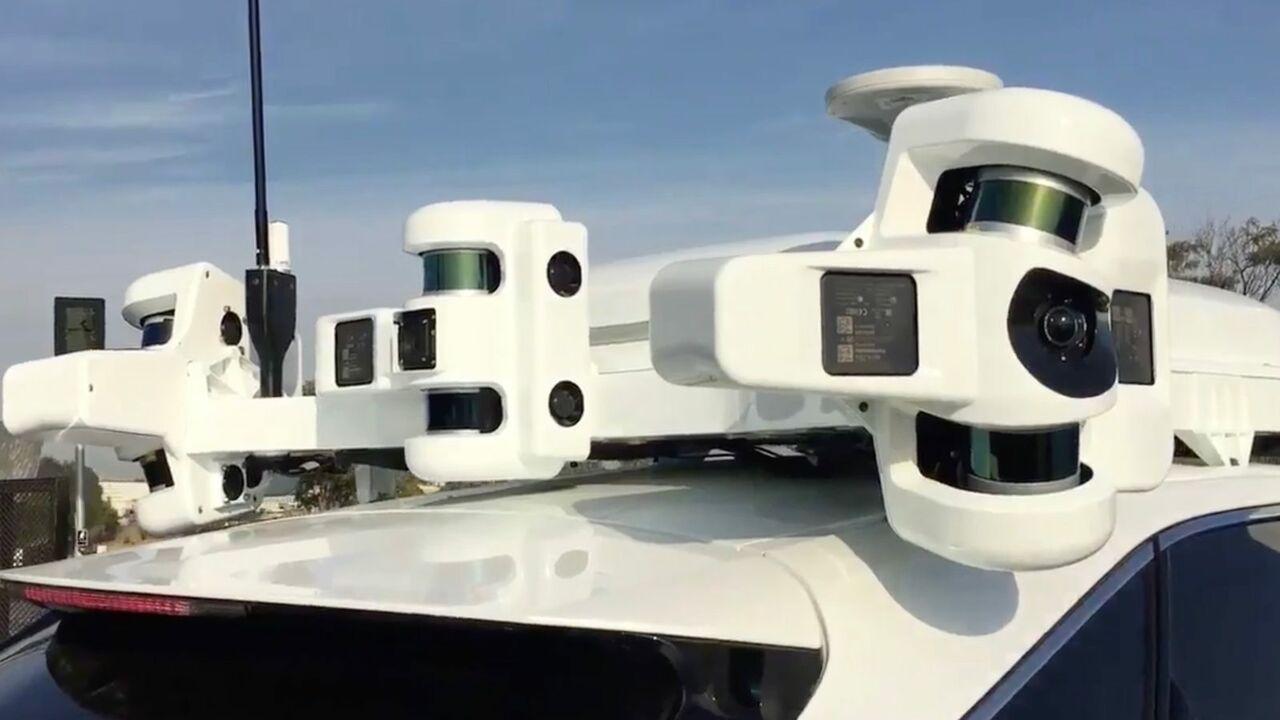Прототип нового устройства от корпорации Apple с рабочим названием'Проект Титан впервые попал