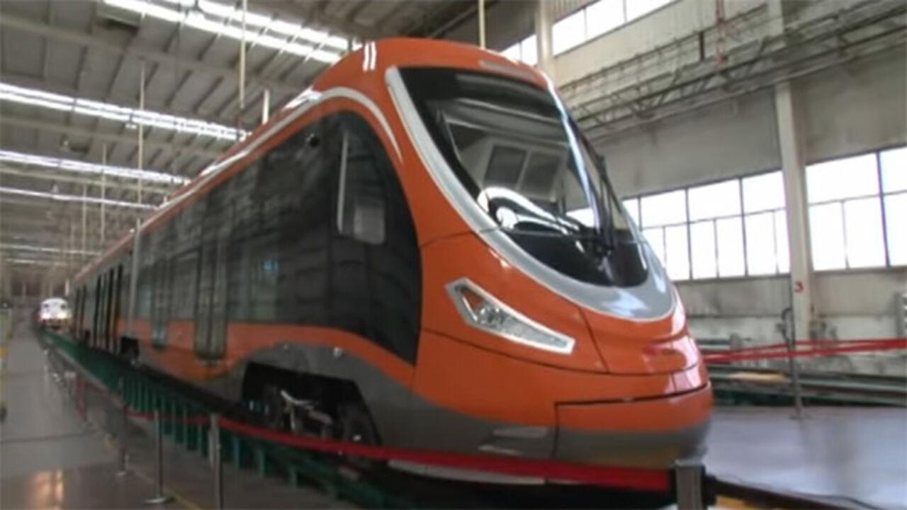 В Китайская республика введен вэксплуатацию 1-ый вмире «водородный» трамвай