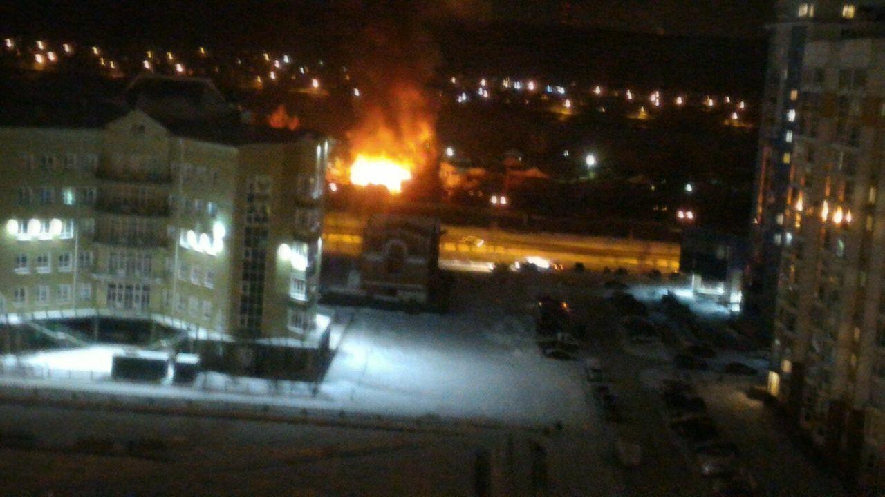 Стали известны детали масштабного пожара наулице 5-й Заречной вКемерове