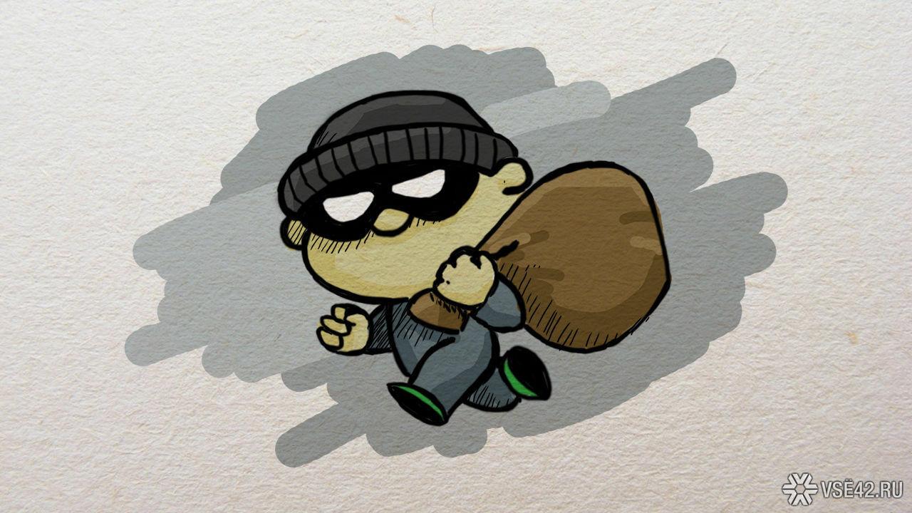 ВКузбассе мужчина ограбил коттедж на1,2 млн  руб.