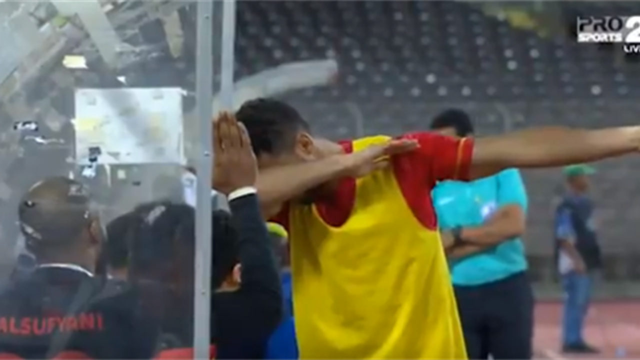 Футболиста могут посадить втюрьму из-за празднования гола