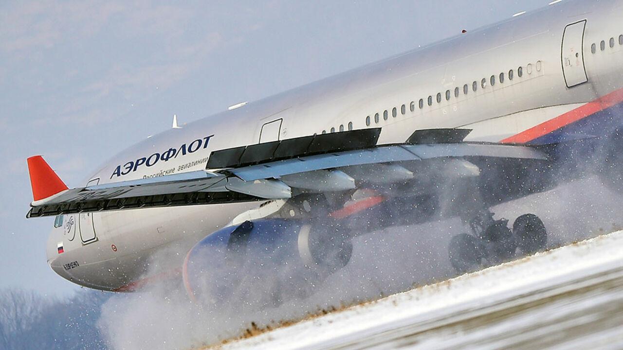Московский снегопад привел кполомке 19 самолетов «Аэрофлота»