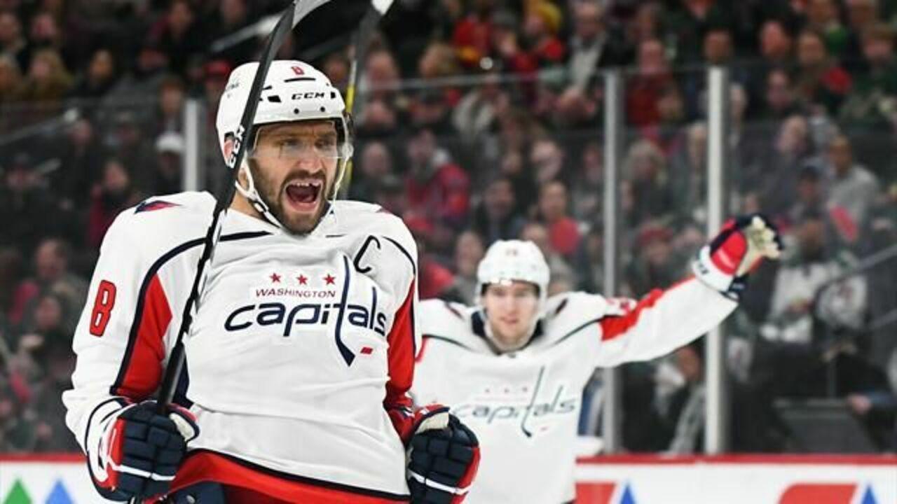 «Коламбус» победил «Вашингтон» вматче НХЛ, Панарин иОвечкин забросили пошайбе