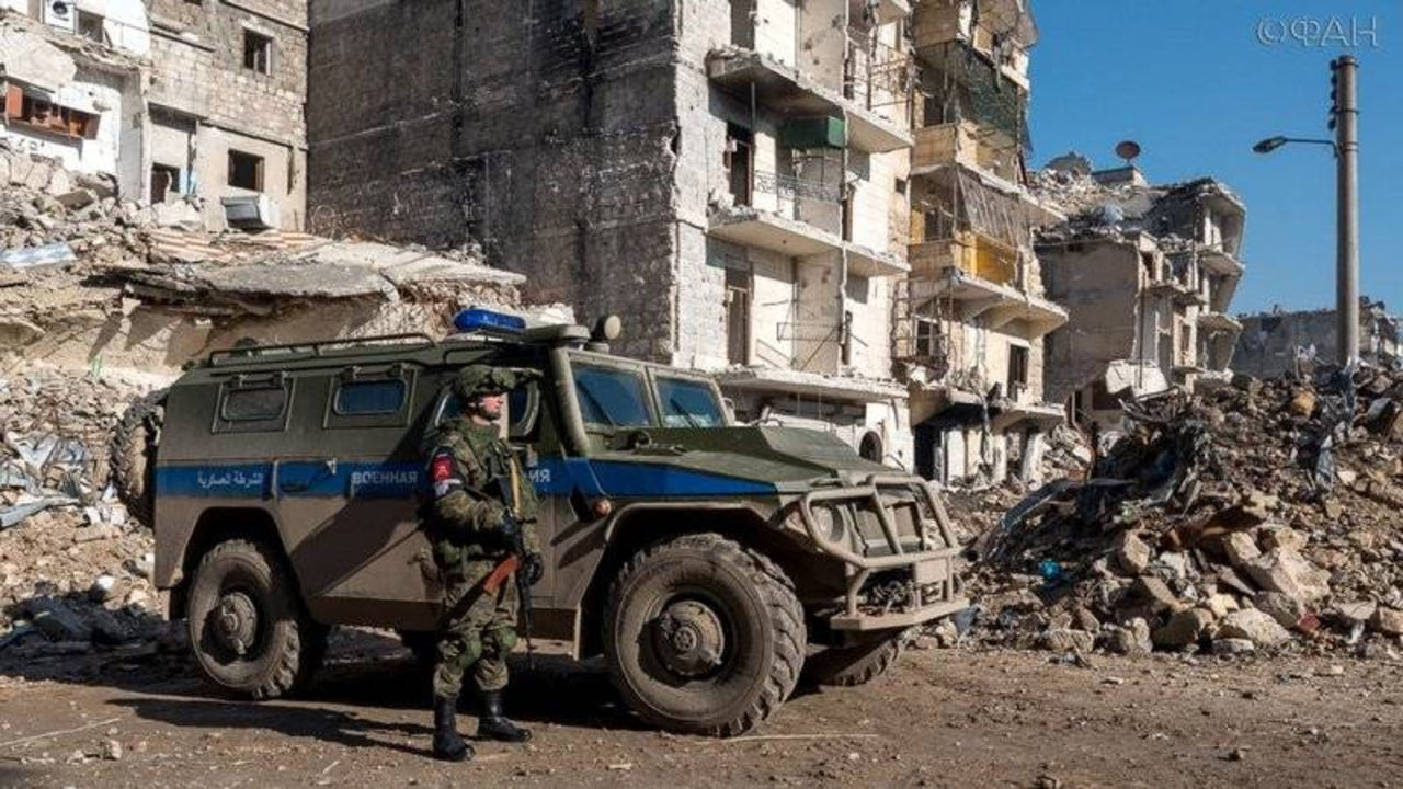 Всирийскую Думу 12апреля войдет русская военная милиция