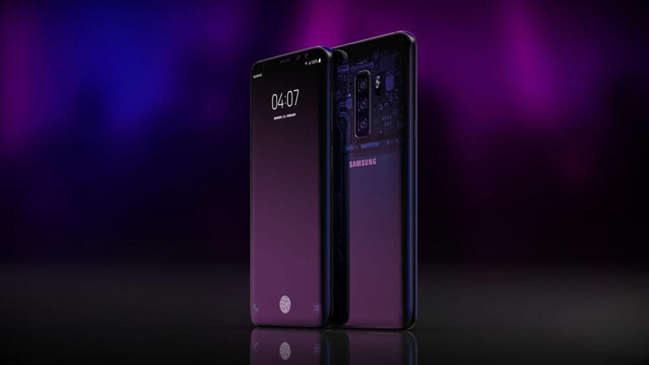 Изображения нового флагманского смарфтона Samsung Galaxy S10 поразили пользователей в Сети. Как отмечает AKKet гаджет'невероятно красив