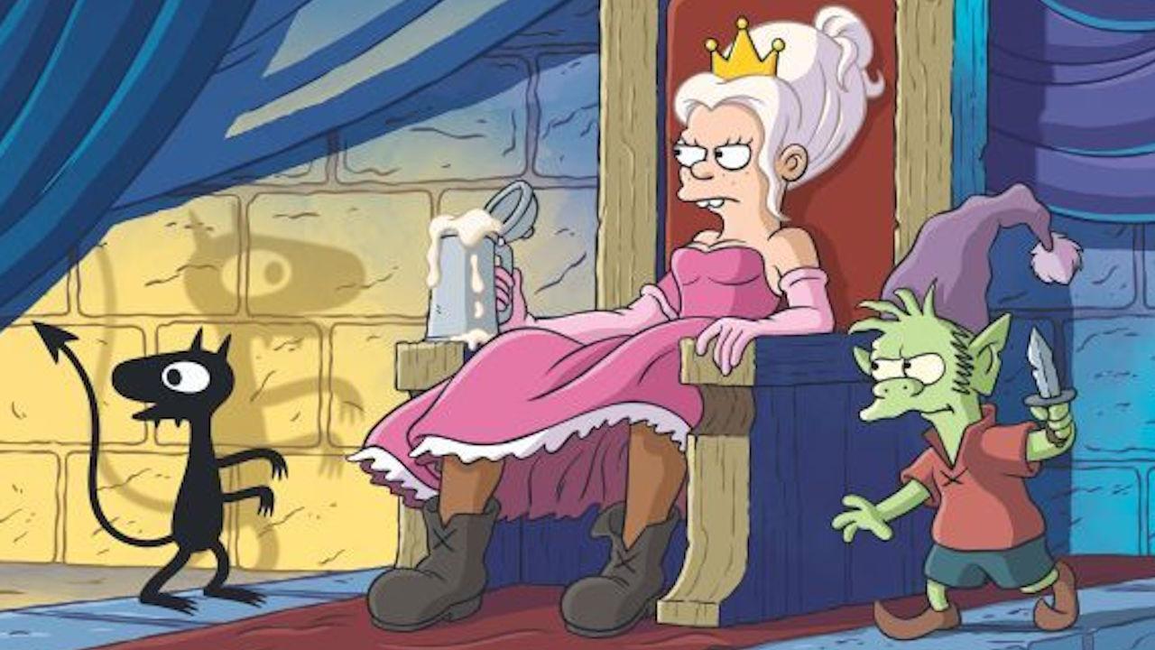 Сериал отсоздателя «Симпсонов» покажет пьющую принцессу ипроткнутого жениха