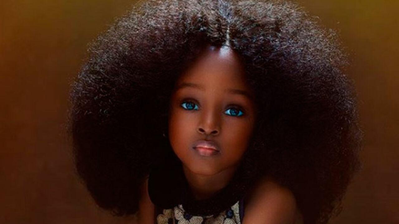 «Самую красивую вмире девочку» отыскали вНигерии