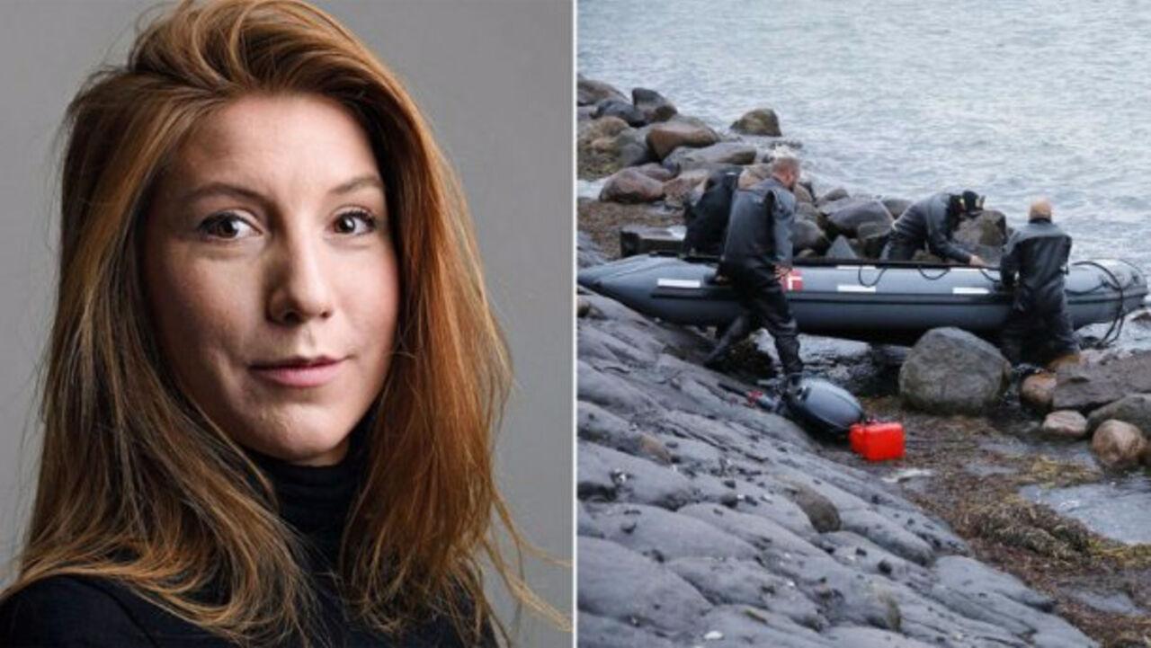 Нашли голову убитой наподводной лодке журналистки Ким Валль
