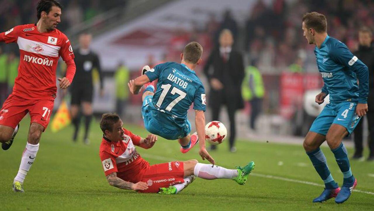 Около 50 футбольных фанатов задержаны порезультатам  матча «Спартак»— «Зенит» в столице