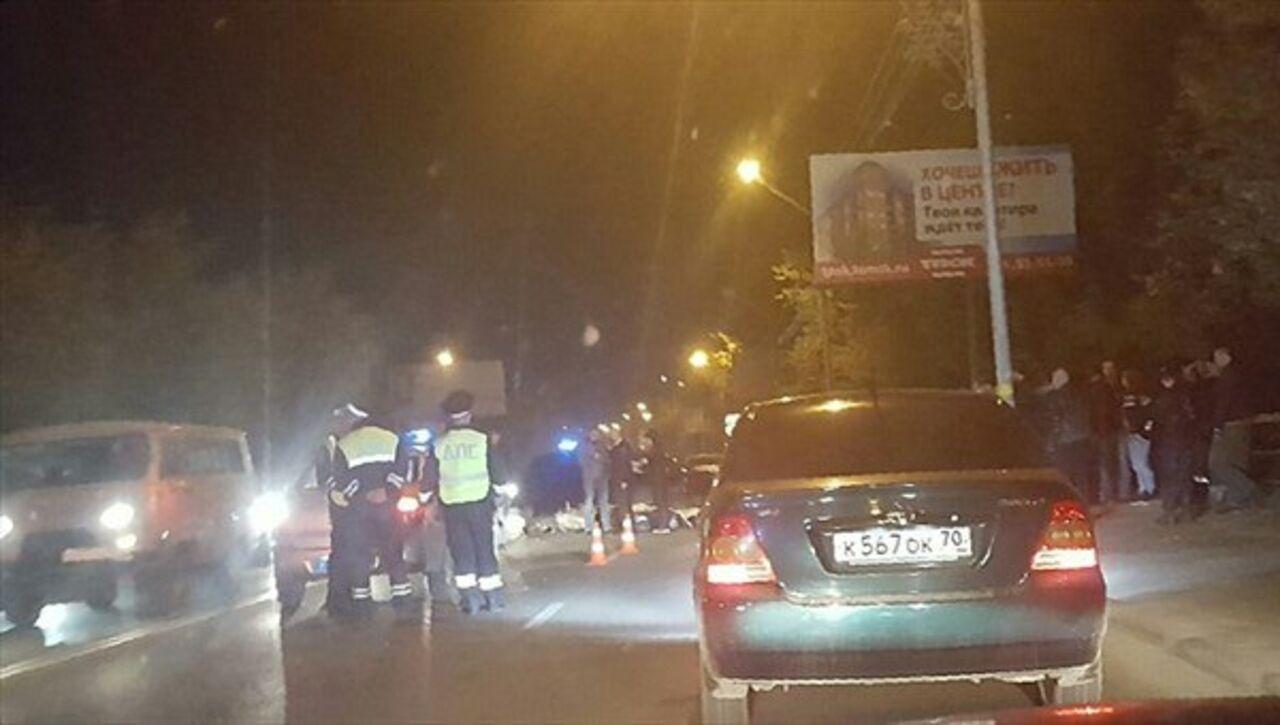Мотоциклист умер вовстречном столкновении наКрасноармейской