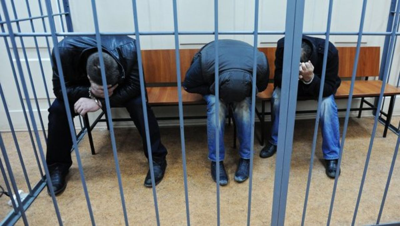 Подозреваемые поделу Бориса Немцова сделали объявление после провозглашения вердикта
