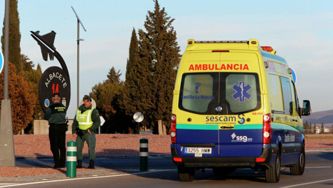 Испанца убили заношение подтяжек с общенациональным флагом