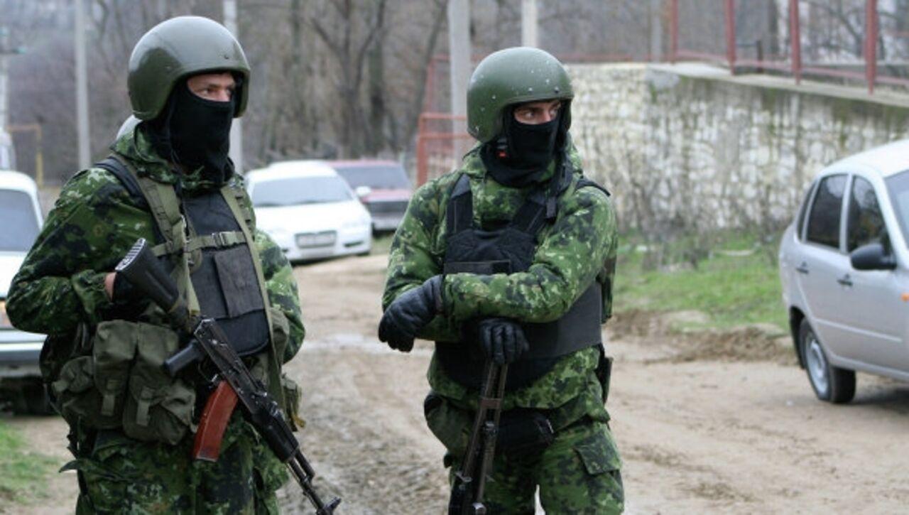 Вселе Губден Карабудахкентского района Дагестана идет боестолкновение сбандитами