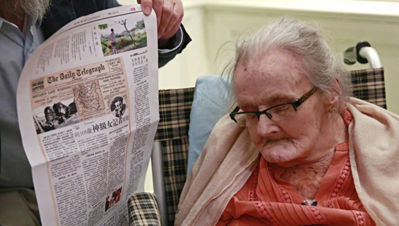 Скончалась первая сообщившая оначале 2-ой мировой войны журналистка