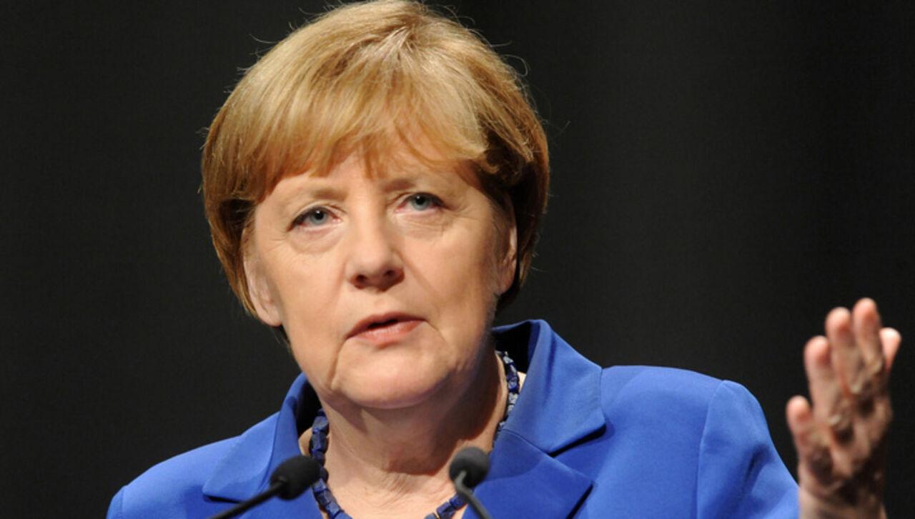 Меркель заявила Трампу о необходимости сотрудничества с Россией по Сирии