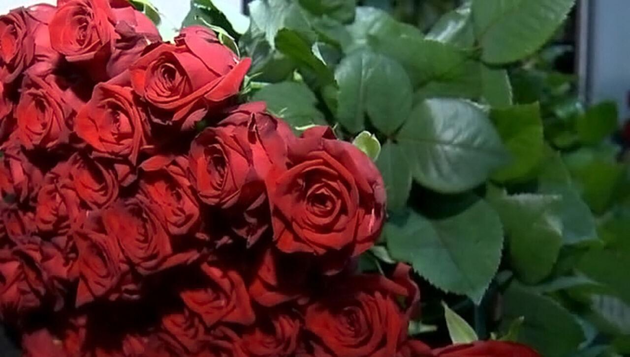 Владимиру Путину подарят 450 роз