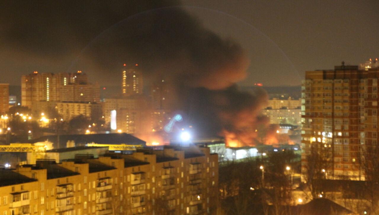 11 человек пострадали врезультате сильного возгорания вОдинцово