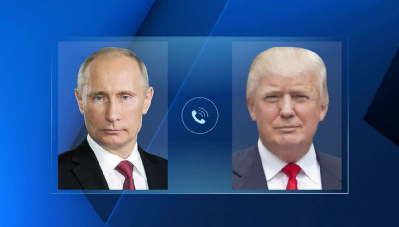 Белый дом оценил телефонный разговор В.Путина иТрампа