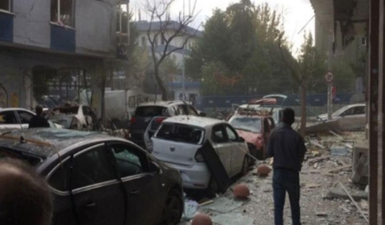 Появились первые кадры сместа взрыва вСтамбуле