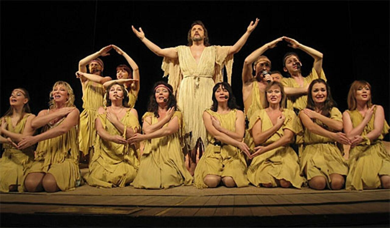 Омский музтеатр запретил рок-оперу про Иисуса Христа