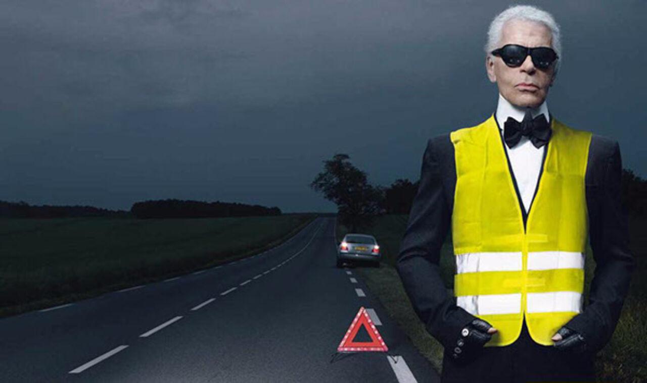 Водителей вынудили носить светоотражающие жилеты втемноте