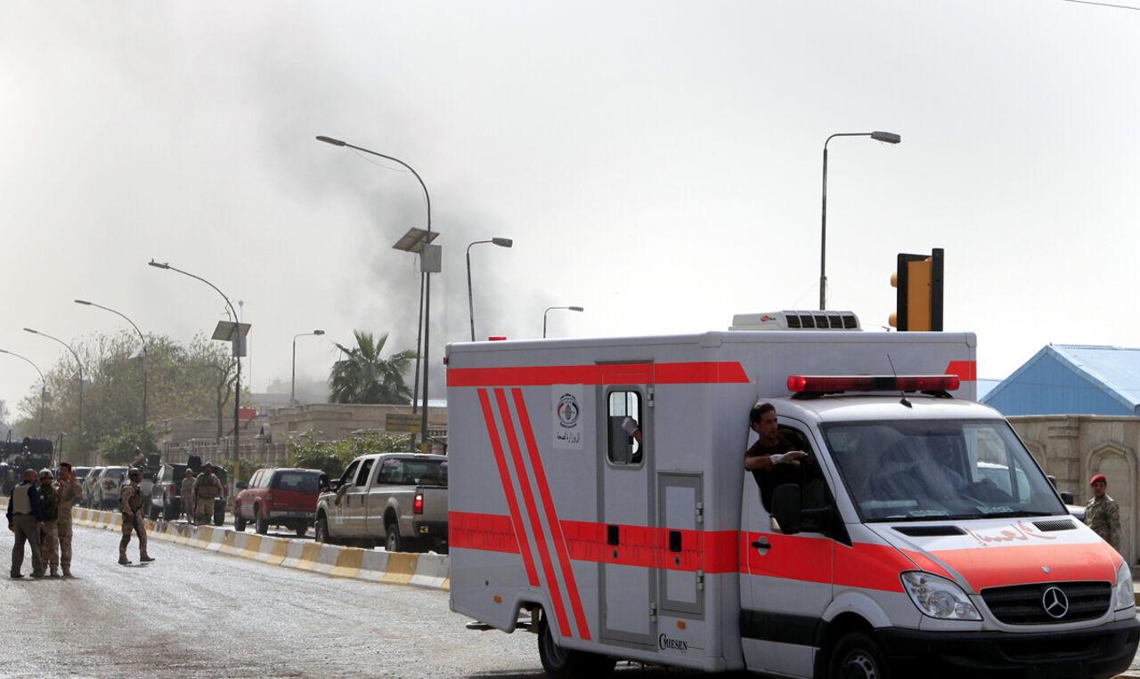 СМИ проинформировали о 9-ти погибших при взрыве вБагдаде