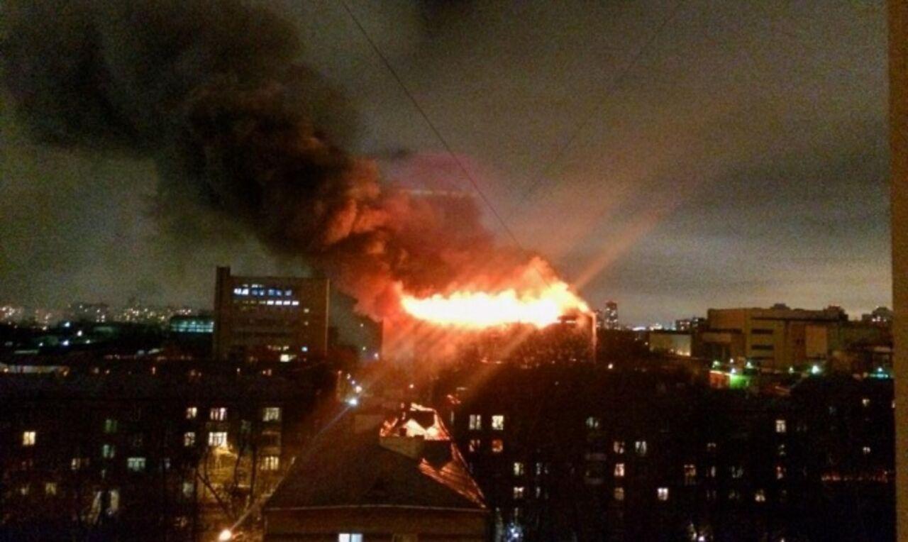 Названы причины пожара вТушино