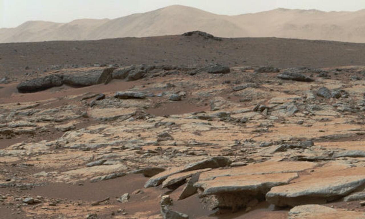 Уфологи отыскали наМарсе мраморный шарик инопланетян