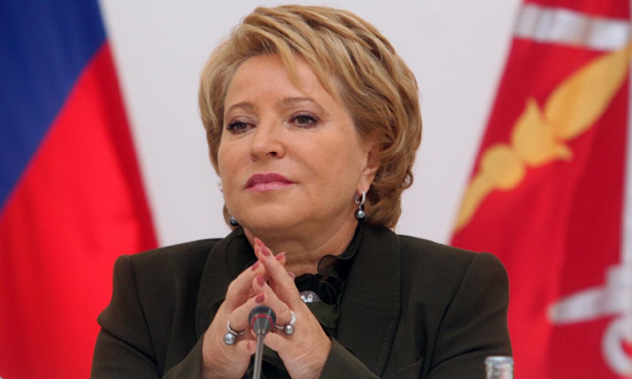 Матвиенко предложила восполнить недостаток добра вмире женщинами-политиками