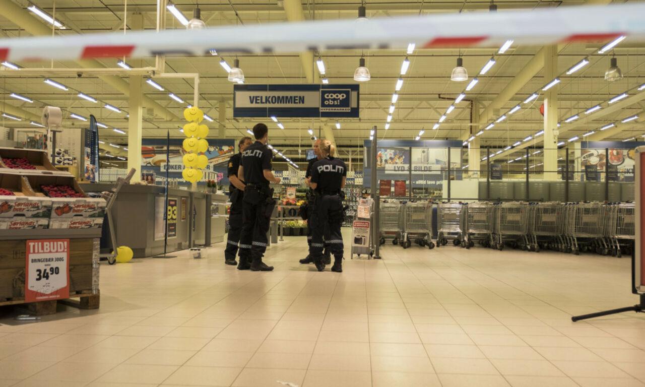 Девочка сножом напала насотрудницу ипосетительницу торгового центра вНорвегии