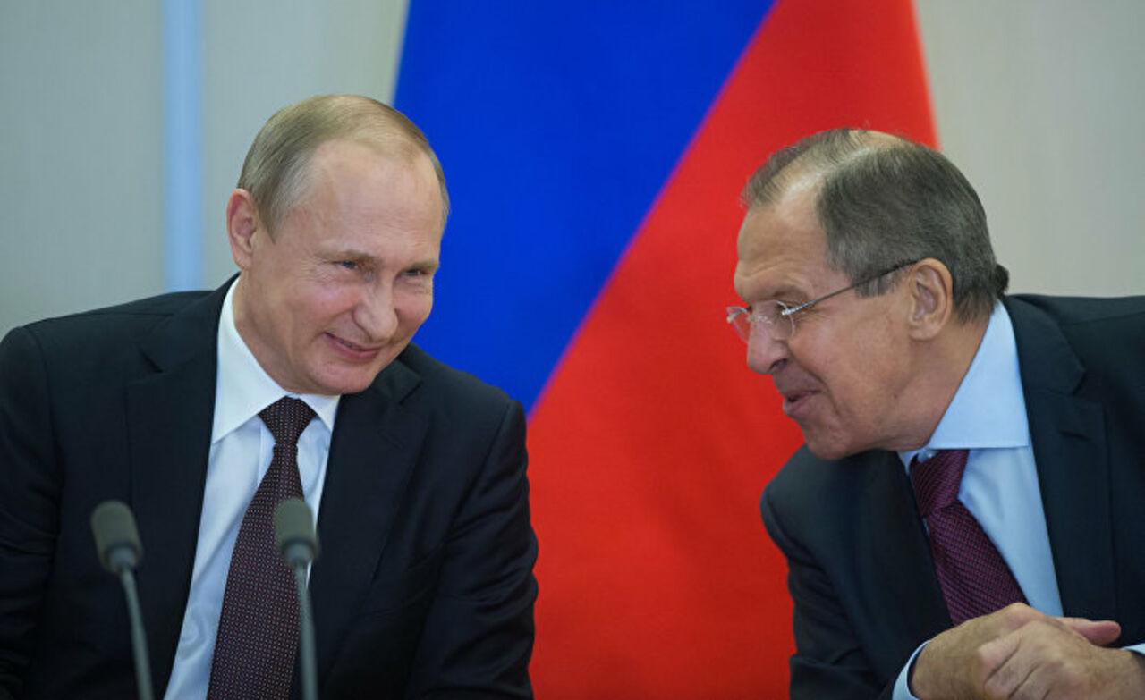 Путин «заподозрил» Лаврова вшпионстве