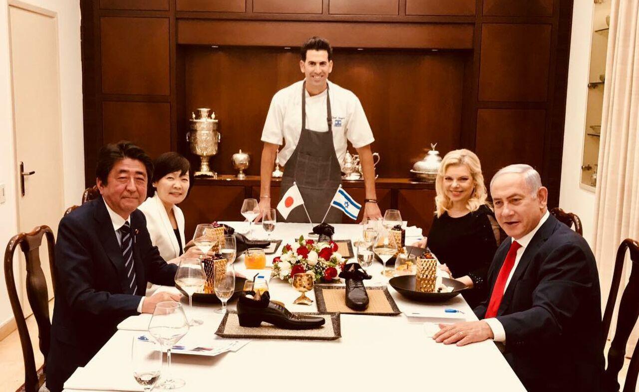 Десерт изобуви: вИзраиле оконфузились перед японским премьером