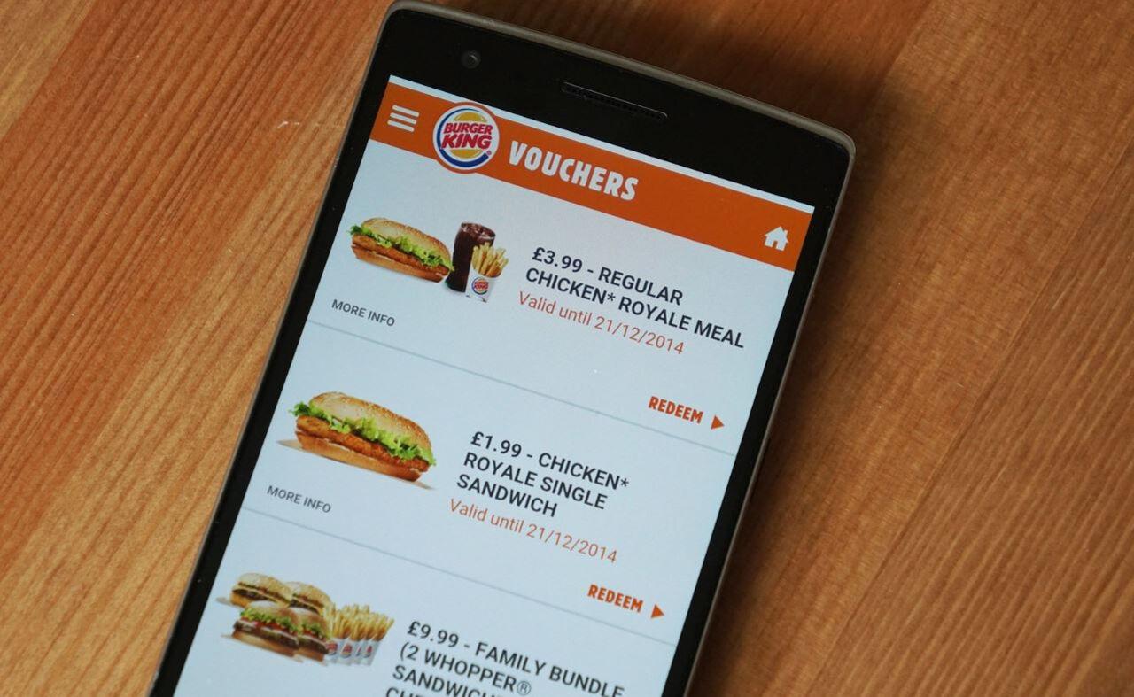 Мобильное приложение Burger King записывает экран телефона. Даже