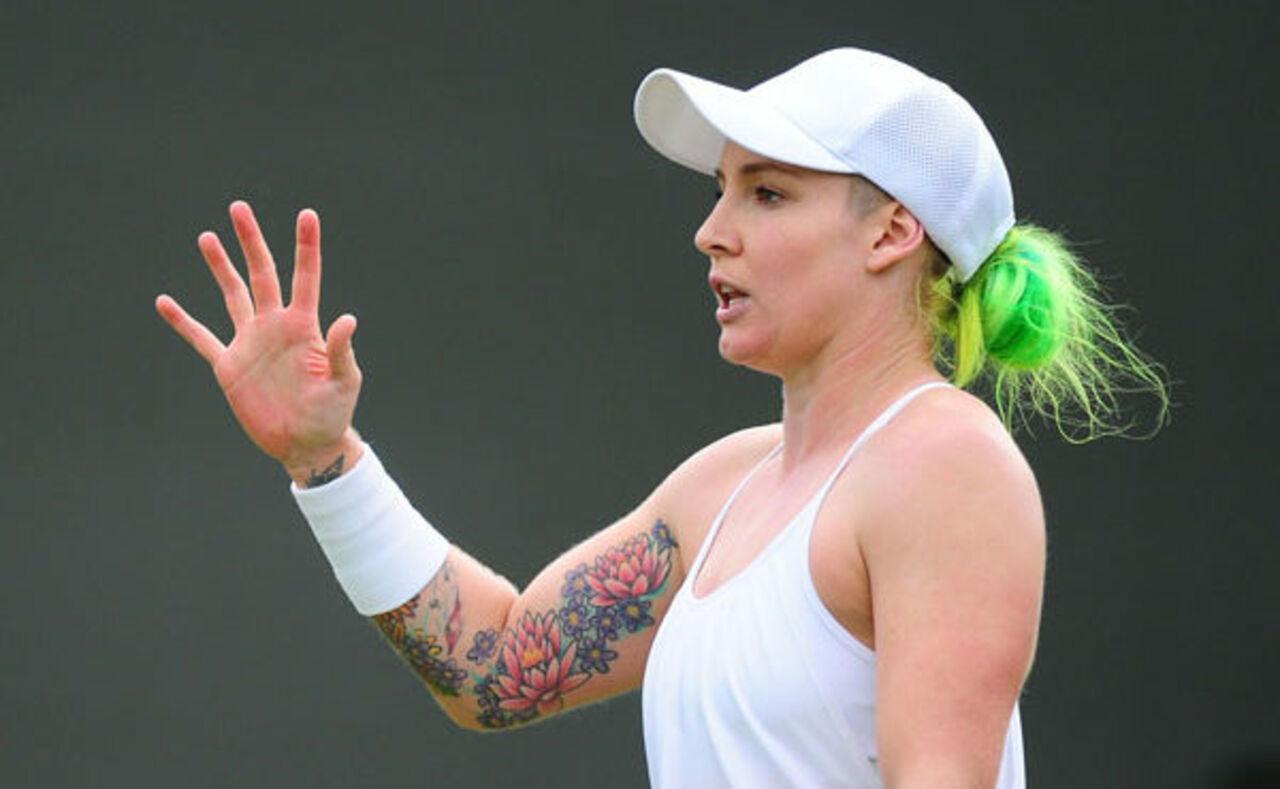 Североамериканская теннисистка получила жуткую травму вматче Уимблдона