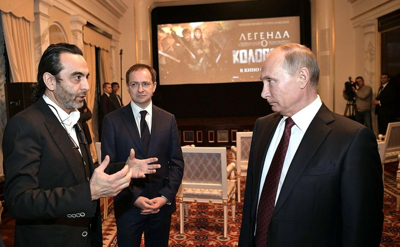 Путин поделился впечатлениями отфильма «Легенда оКоловрате»