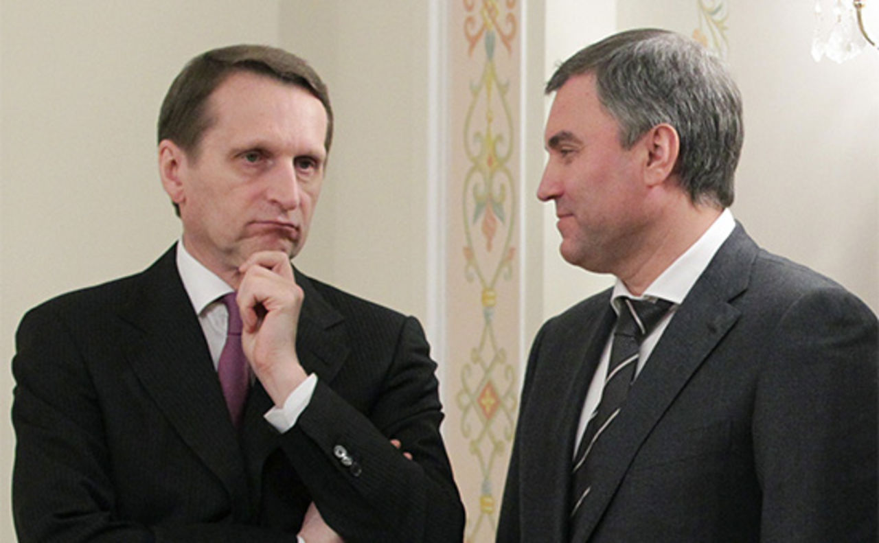 Поменять Нарышкина напосту спикера Государственной думы может Володин