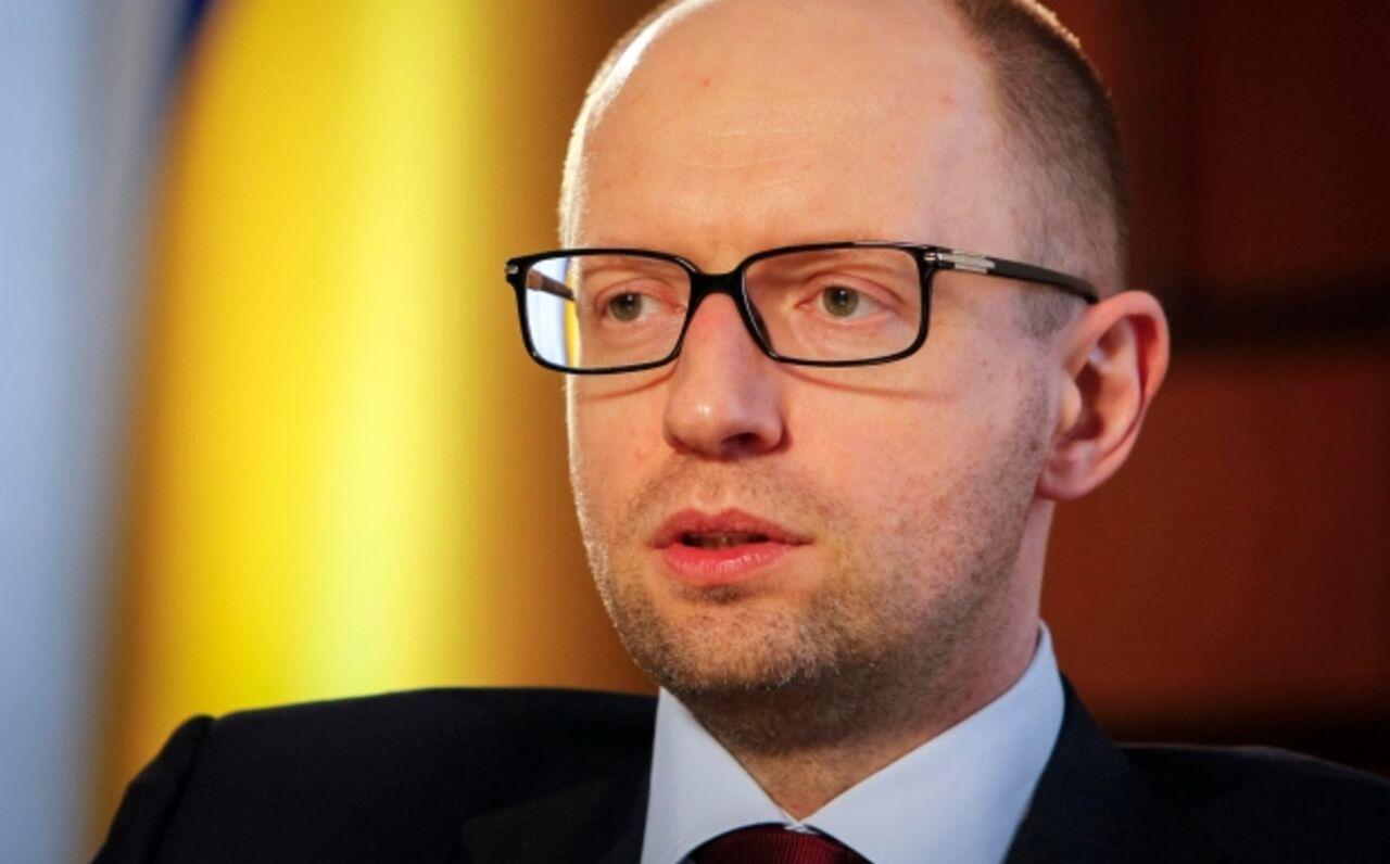 Яценюк пожаловался набрифинге, что на«Стену» недают денежных средств
