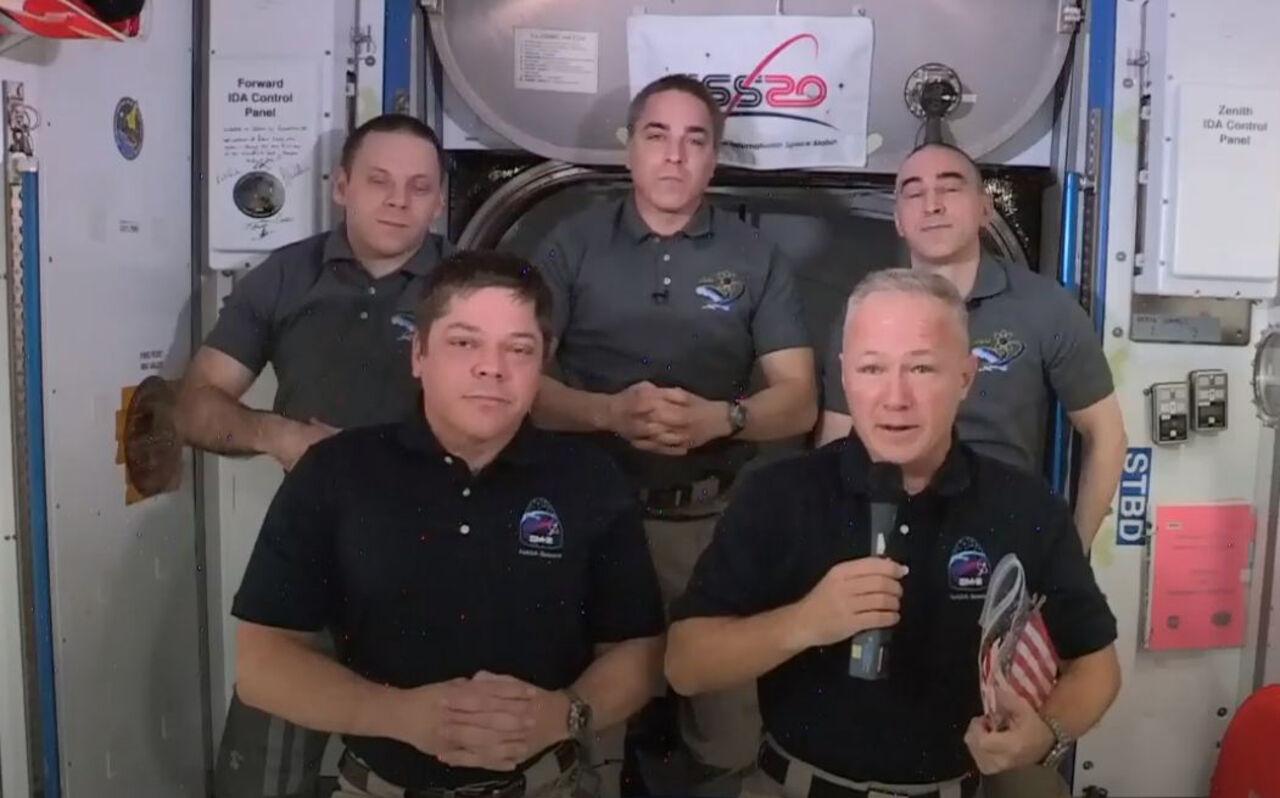 КоммерсантъFM: Как корабль Crew Dragon провел два месяца наМКС?