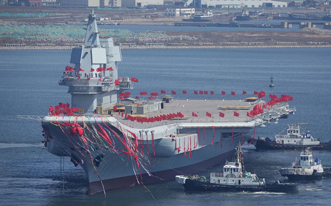 В КНР построили новый авианосец