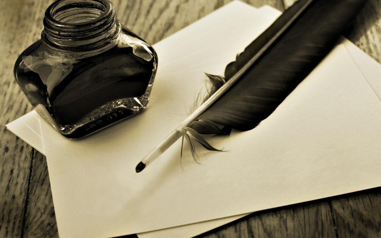 В РФ собираются вернуть письмо гусиным пером