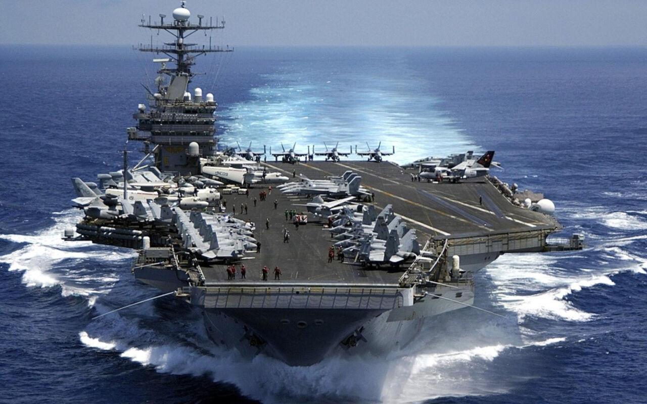 Вашингтон скрывает планы авианосной группы ВМС США уберегов КНДР