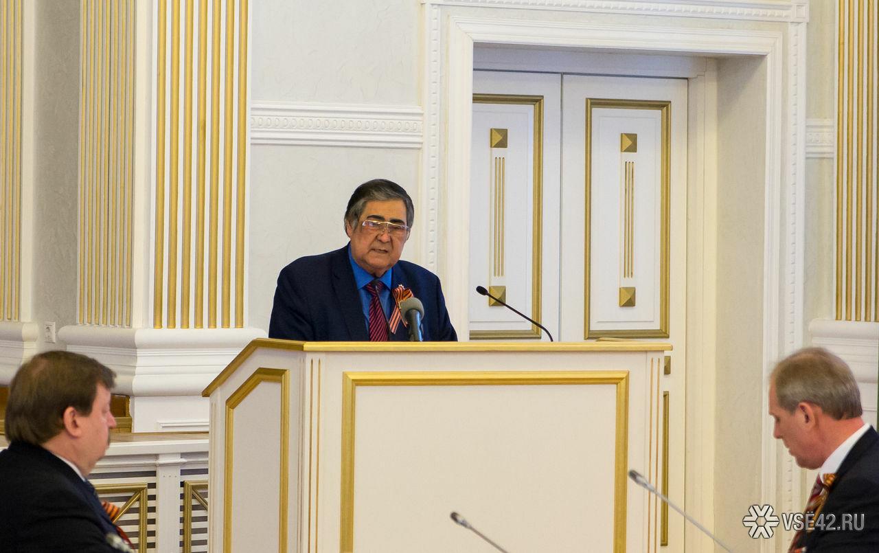 ВКремле неподтвердили информацию оботставке Амана Тулеева