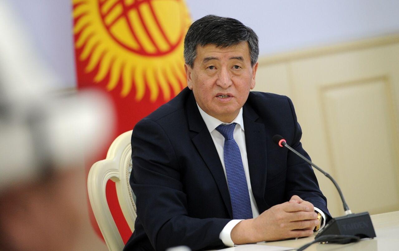 Сегодня вступает вдолжность новый президент Кыргызстана Сооронбай Жээнбеков