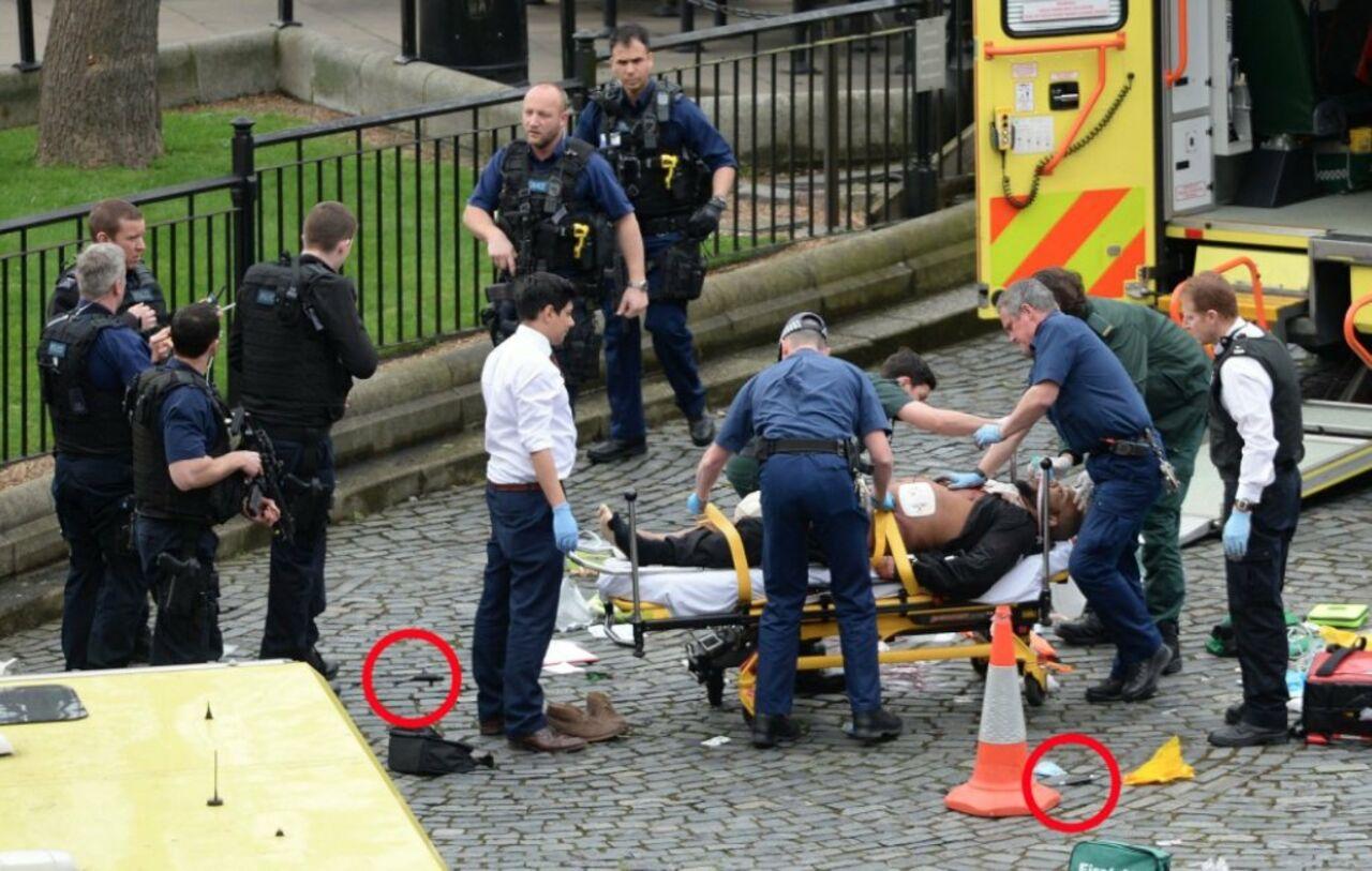 Появилось первое фото напавшего напарламент встолице Англии террориста