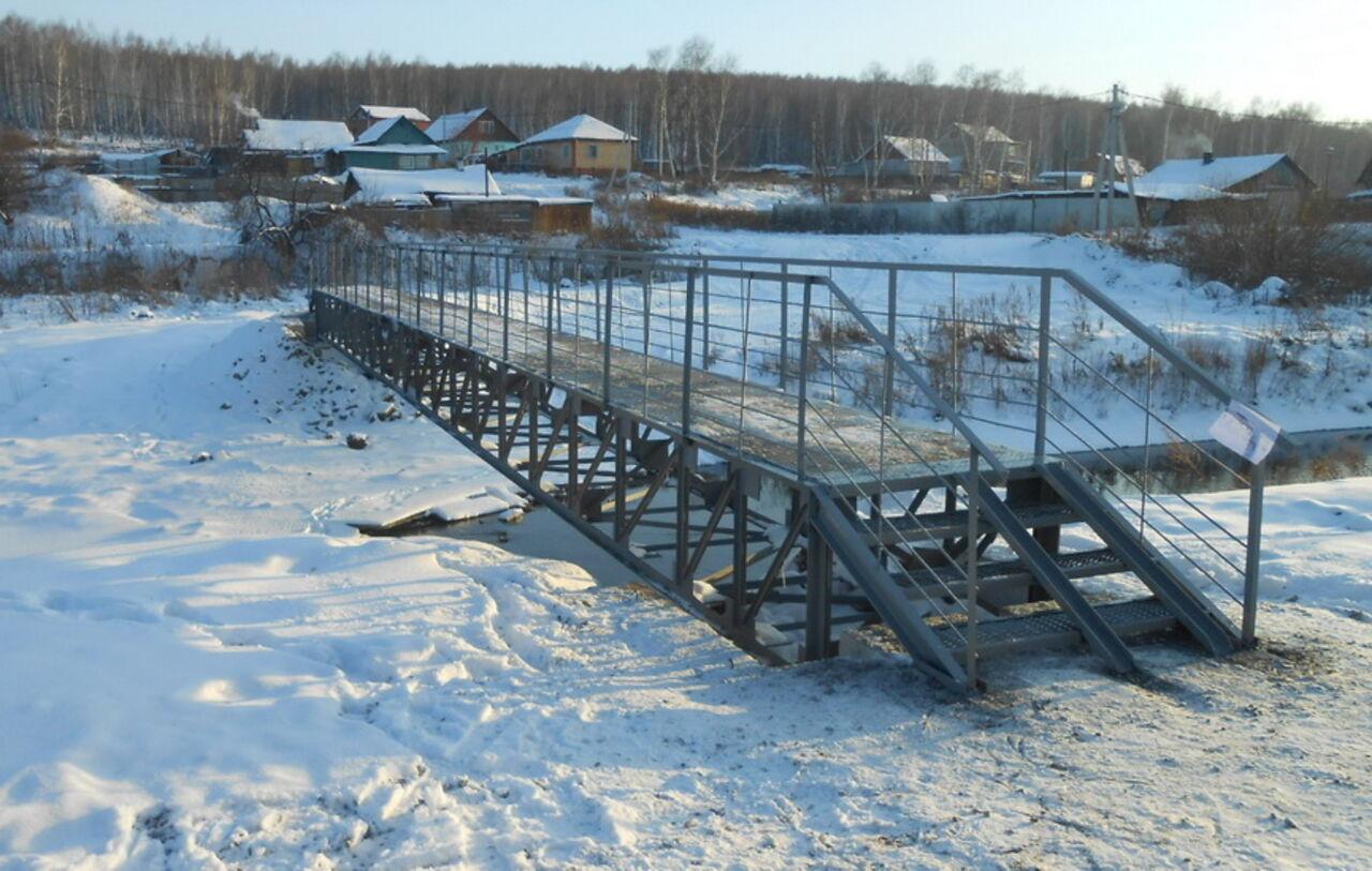 Новый пешеходный мост появился вКемерове