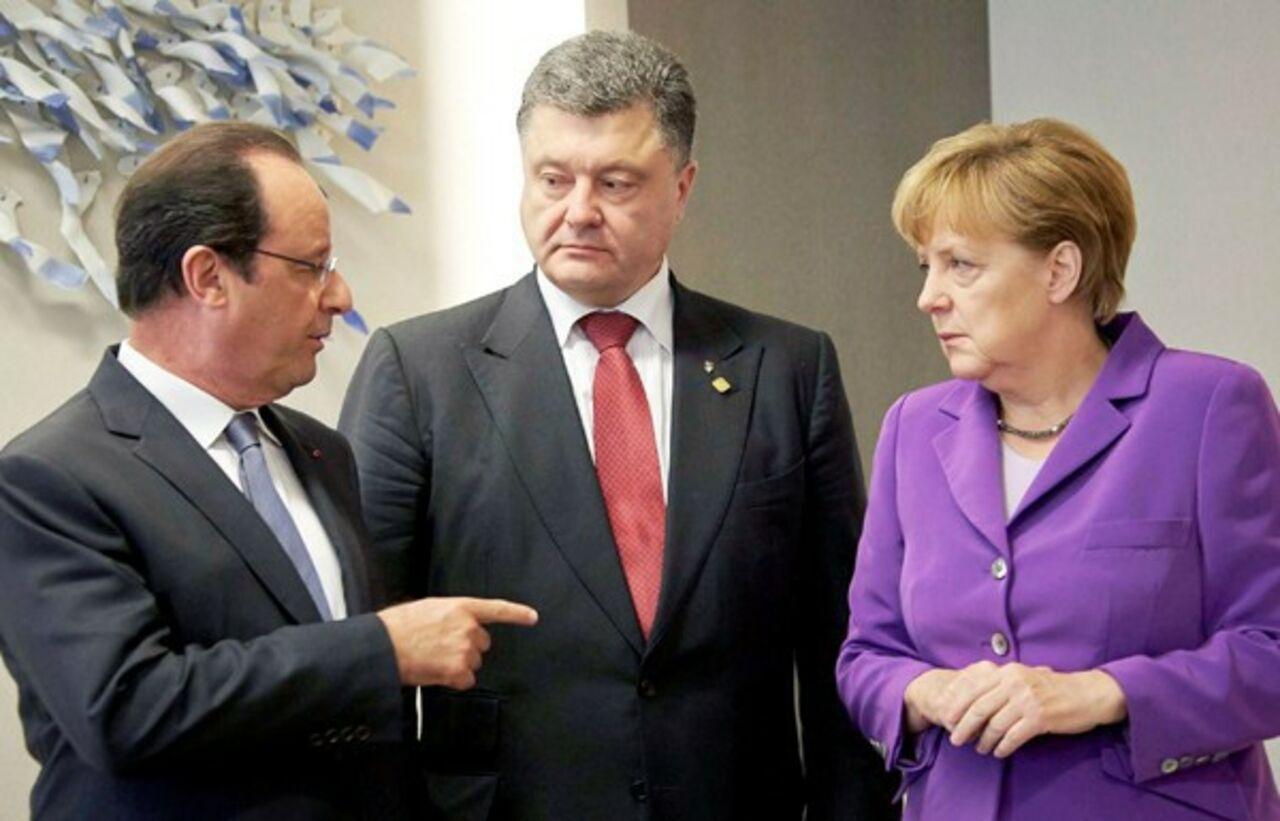 Сегодня состоятся переговоры внормандском формате без участияРФ