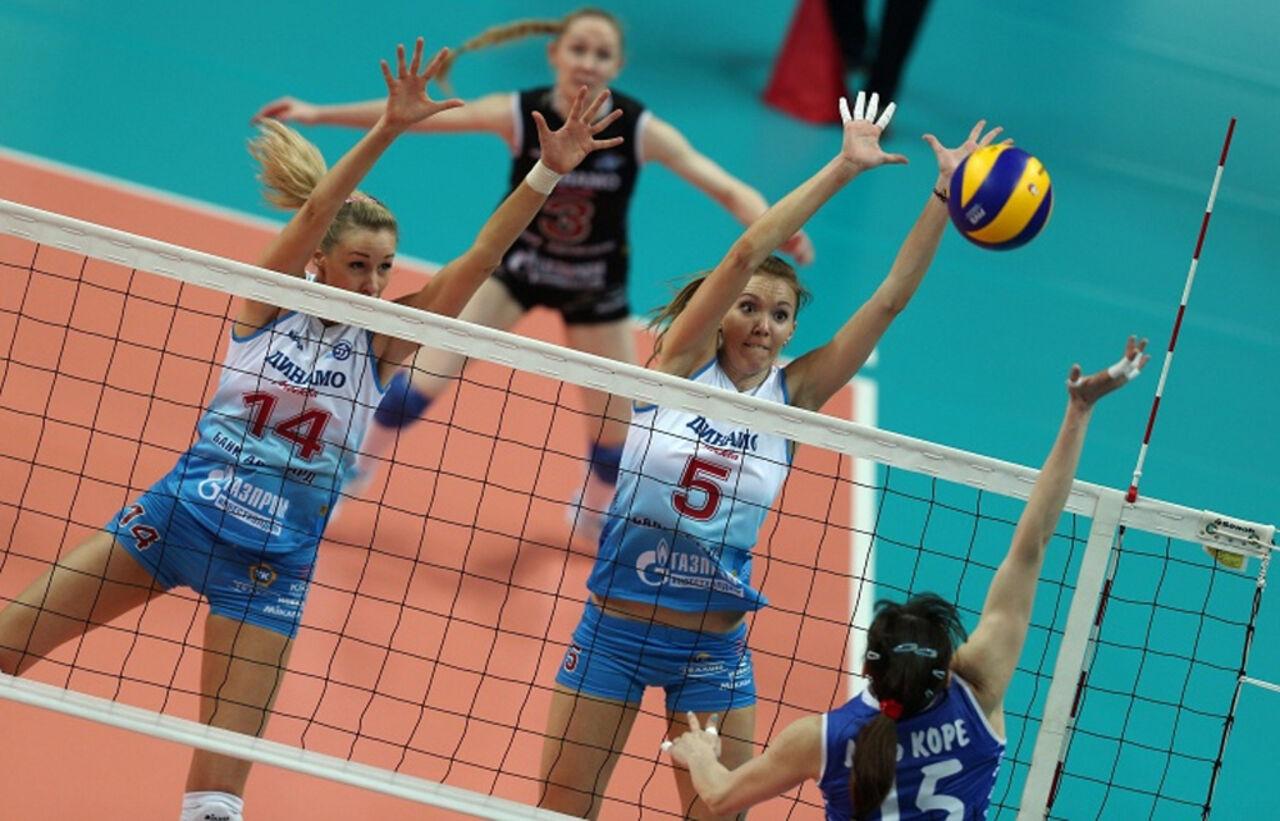 Девушки казанского «Динамо» преждевременно попали вследующий этапЛЧ поволейболу